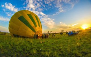 Hot Air Balloon Safari tours in Uganda