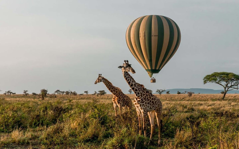 Hot Air Balloon Safari tours in Uganda