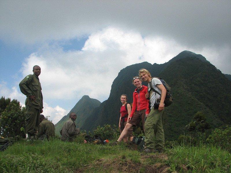 Virunga Mountains Hiking
